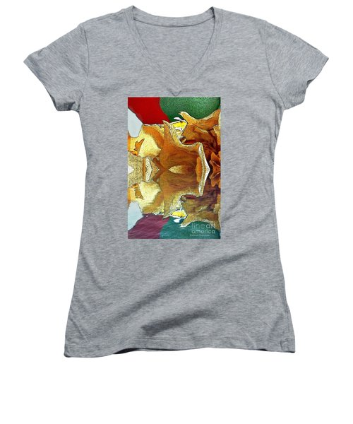 Ready To Fly Women's V-Neck T-Shirt