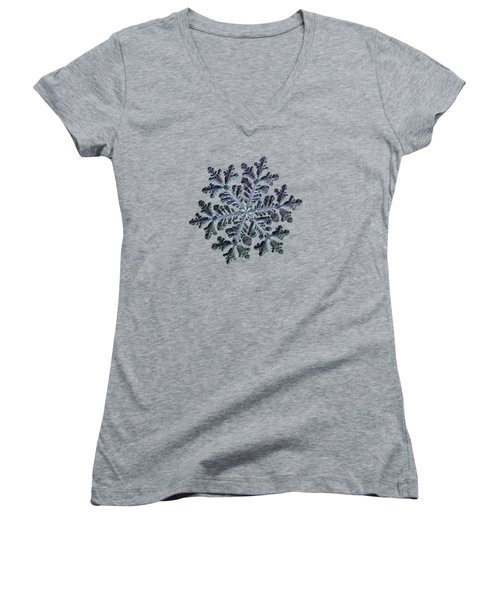 Real Snowflake - Hyperion Dark Women's V-Neck