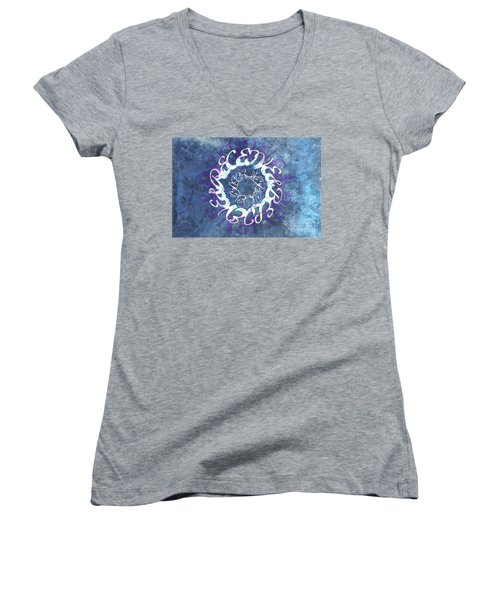 Receive And Believe 1 Women's V-Neck (Athletic Fit)