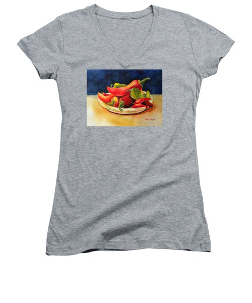 Red Hot Chile Peppers Women's V-Neck