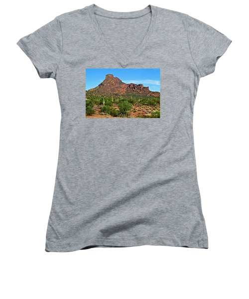Red Mountain Women's V-Neck (Athletic Fit)
