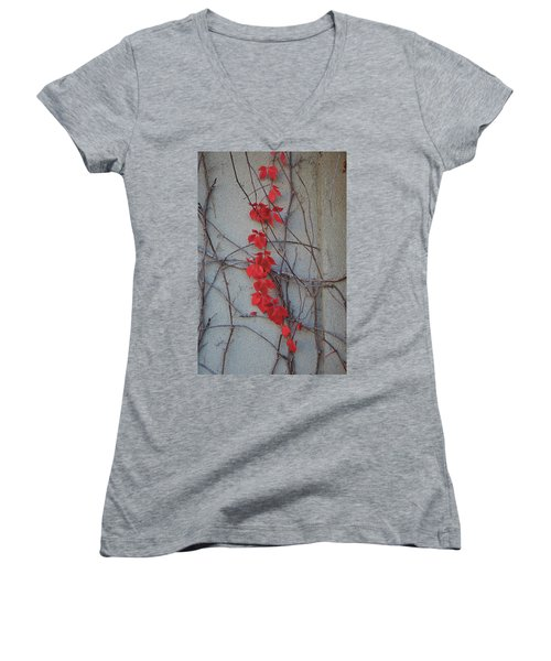 Red Vines Women's V-Neck