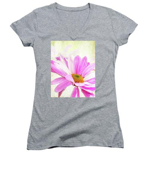 Redeemed 2 Women's V-Neck T-Shirt (Junior Cut)
