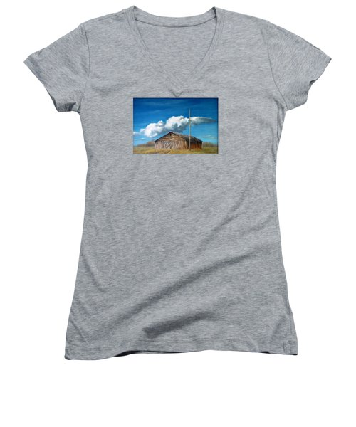 Reflection Of The Past 2 Women's V-Neck T-Shirt