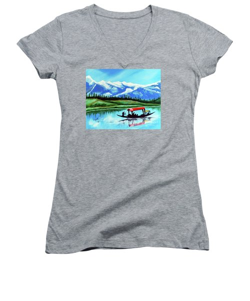 Reflection Women's V-Neck T-Shirt