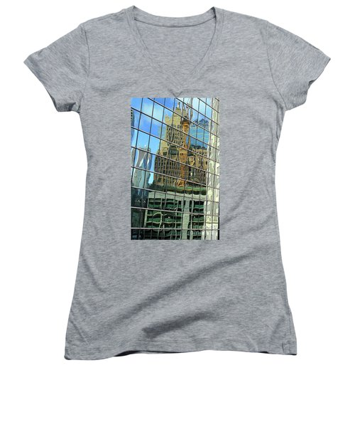 Reflective Chicago Women's V-Neck
