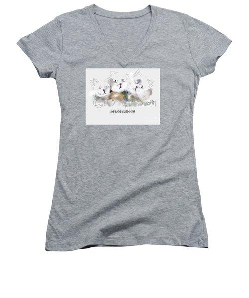 Relatives Women's V-Neck T-Shirt