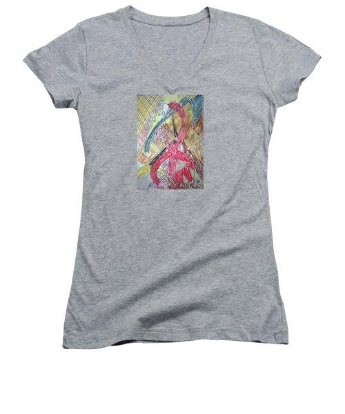 Relax. Dance Women's V-Neck T-Shirt