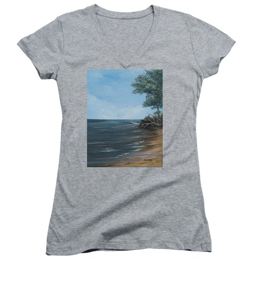 Relaxation Island Women's V-Neck T-Shirt