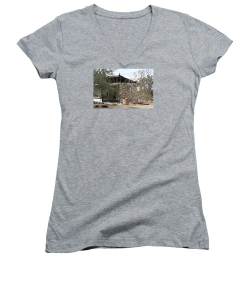 Remains Of Yesteryears Women's V-Neck T-Shirt (Junior Cut)