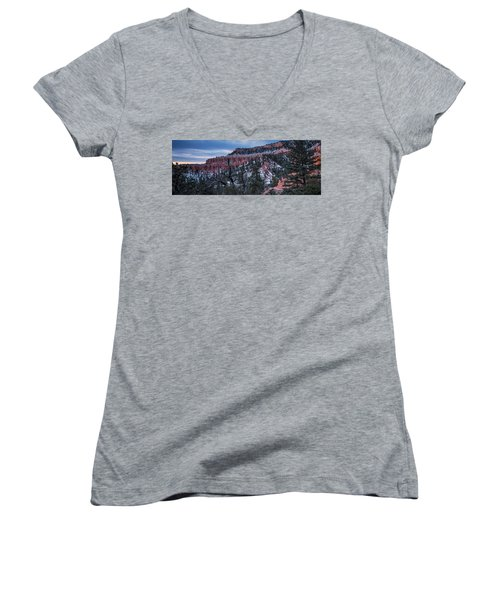 Women's V-Neck featuring the photograph Remembering Bryce by Edgars Erglis