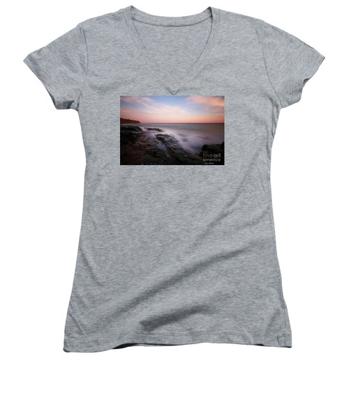 Repos. Women's V-Neck (Athletic Fit)