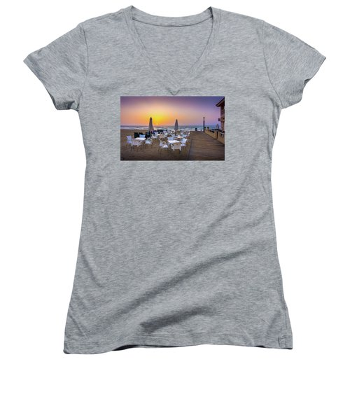 Restaurant Sunrise, Spain. Women's V-Neck