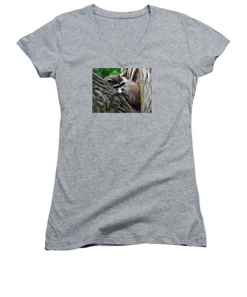 Resting Women's V-Neck T-Shirt