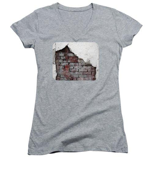 Revealed Women's V-Neck T-Shirt (Junior Cut) by Ethna Gillespie