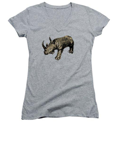 Rhino Women's V-Neck (Athletic Fit)