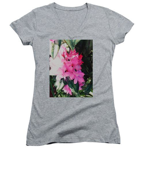 Rhodies Women's V-Neck