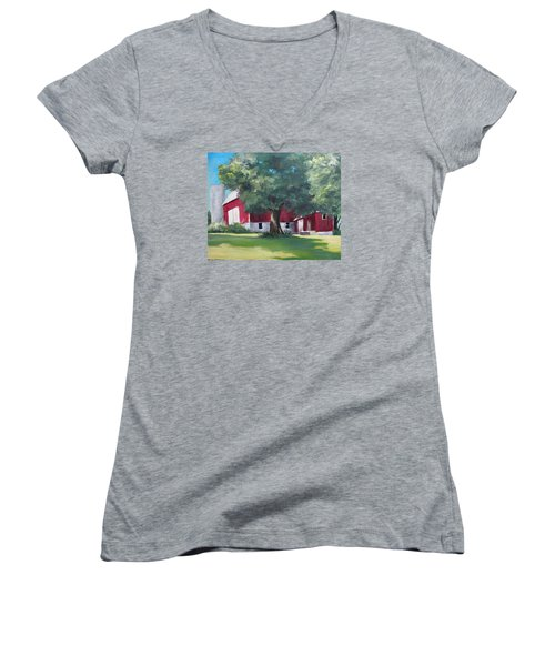 Rich's Barn Women's V-Neck T-Shirt