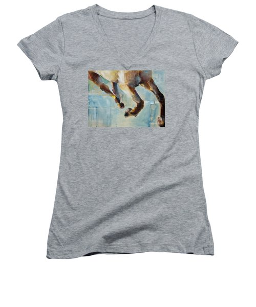 Ride Like You Stole It Women's V-Neck (Athletic Fit)