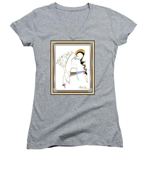 Ridicule - Madame De Blayac Women's V-Neck