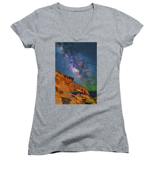 Riding Over The Arch Women's V-Neck