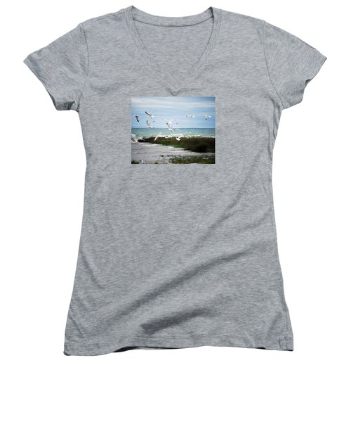 The Magic Of Flight Women's V-Neck