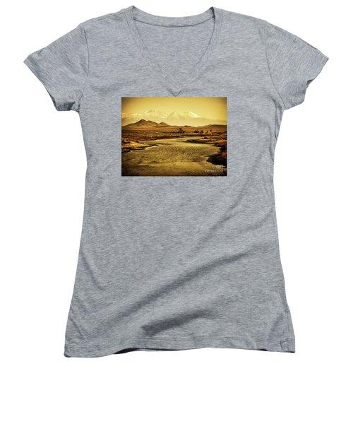 Rio Grande Colorado Women's V-Neck T-Shirt