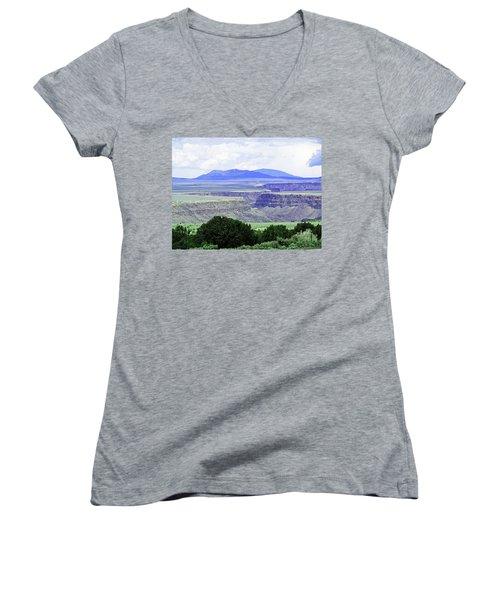 Rio Grande Gorge Women's V-Neck T-Shirt