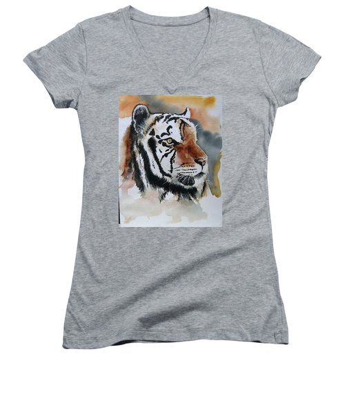 Rip Mike Women's V-Neck T-Shirt