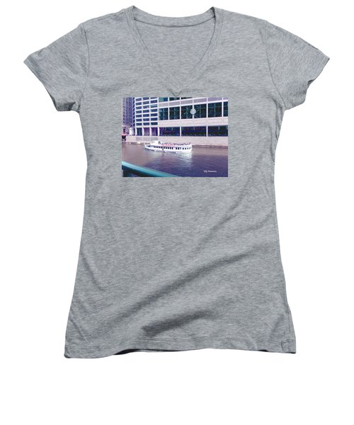 River Boat Tour Women's V-Neck