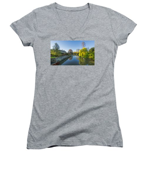 River Cam Women's V-Neck