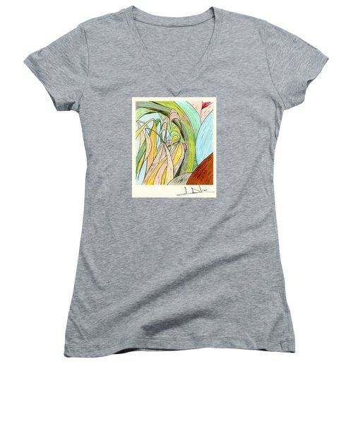 River Grass Women's V-Neck