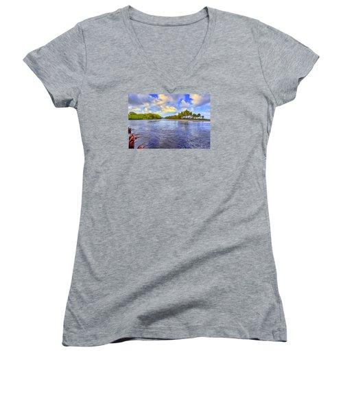 River Island Women's V-Neck
