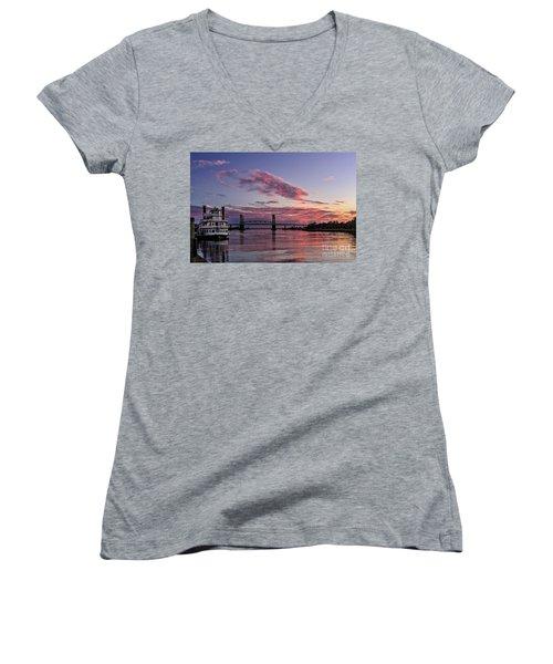 Cape Fear Riverboat Women's V-Neck