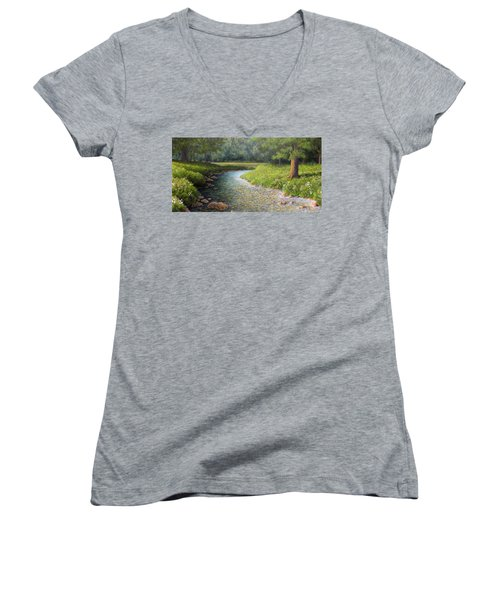 Rivers End Women's V-Neck (Athletic Fit)