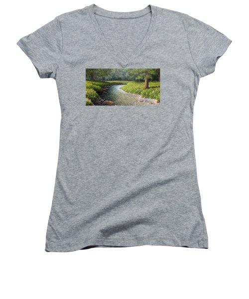 Rivers End Women's V-Neck T-Shirt