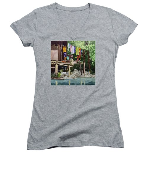Riverside House And It's Laundry Women's V-Neck (Athletic Fit)