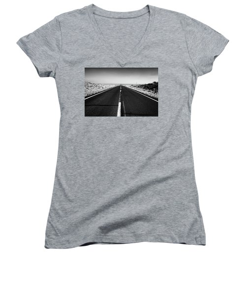 Road To Forever Women's V-Neck (Athletic Fit)
