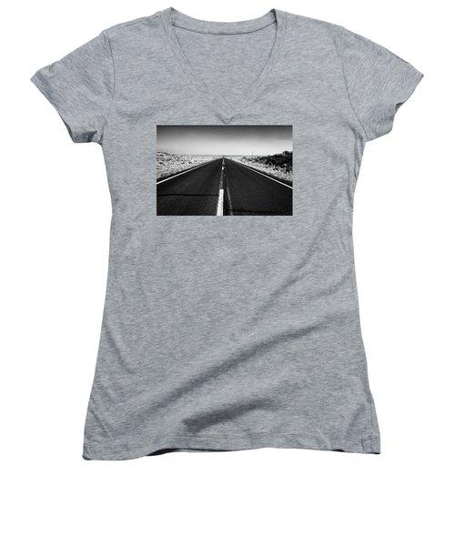Road To Forever Women's V-Neck T-Shirt