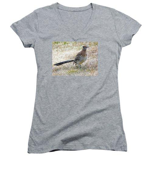Roadrunner New Mexico Women's V-Neck T-Shirt