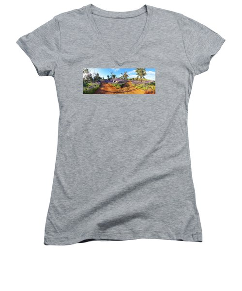 Roads To Salvation Jane Women's V-Neck T-Shirt