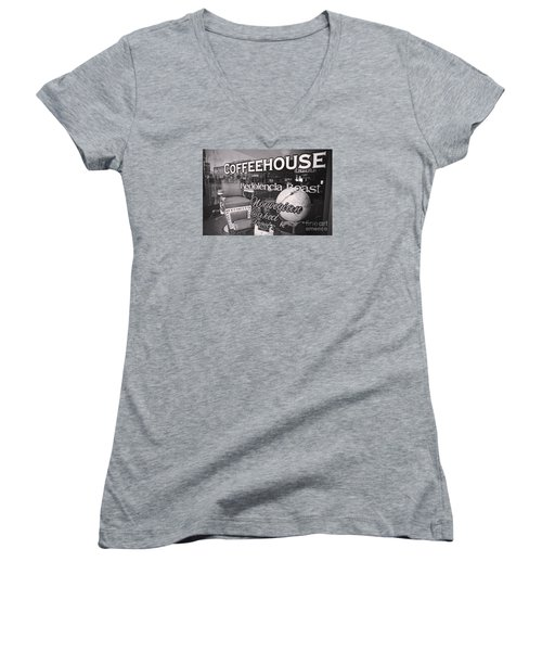 Roasted Women's V-Neck (Athletic Fit)