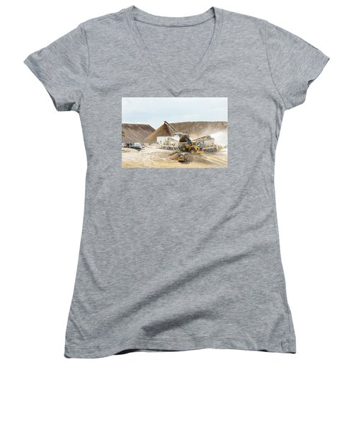 Rock Crushing 3 Women's V-Neck (Athletic Fit)