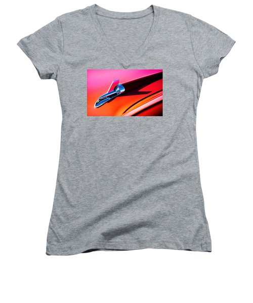 Rock It Women's V-Neck T-Shirt (Junior Cut) by Douglas Pittman