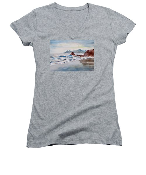 Rocky Beach Women's V-Neck (Athletic Fit)