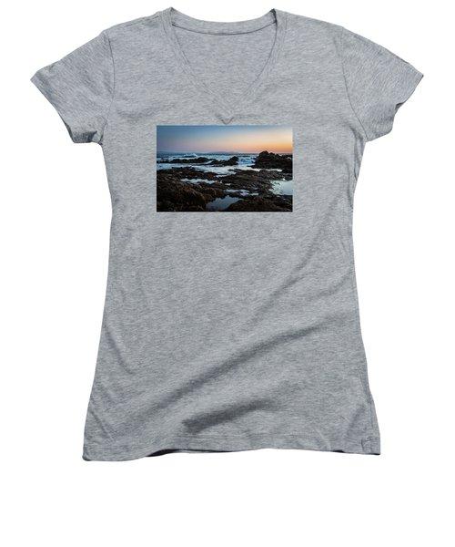 Rocky Coast Women's V-Neck T-Shirt