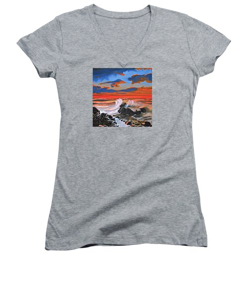 Rocky Cove Women's V-Neck T-Shirt