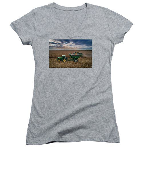 Rolling By Women's V-Neck (Athletic Fit)