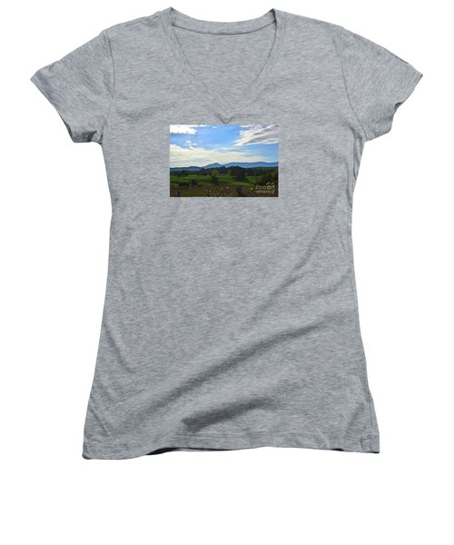 Rolling Hills Women's V-Neck T-Shirt