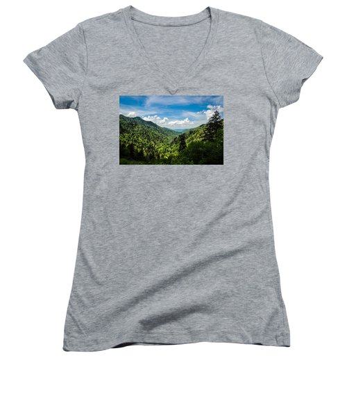 Rolling Mountains Women's V-Neck
